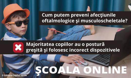 Şcoala online — o experienţă sănătoasă?