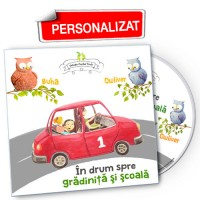 În drum spre grădiniţă şi şcoală vol.1 - CD personalizat