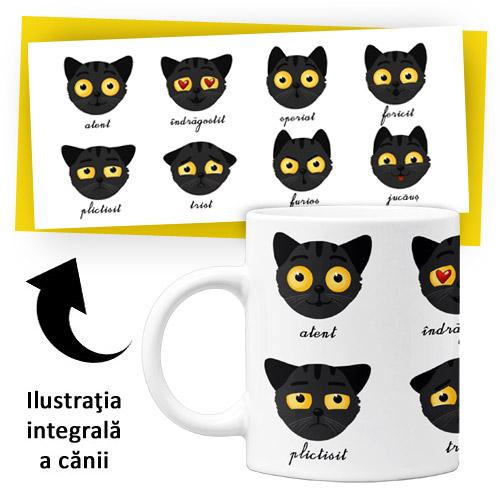 Cană din ceramică - Emoţiile lui Bagheru (Colecţia Barbazuc)