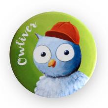 Insignă cu personajul Owliver