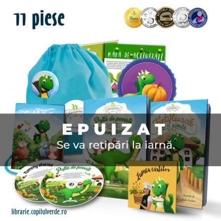 Săculeţul cu poveşti - pachet promo cu cărţi, CD-uri şi mp3 (11 piese)