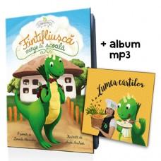 Fintifliuşcă merge la şcoală (carte + album mp3 Lumea cărţilor)