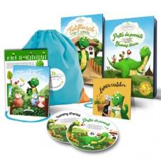 Săculeţul cu poveşti - pachet promo cu cărţi, CD-uri şi album mp3