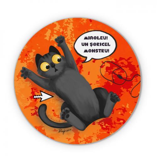 Mouse pad Bagheru şi şoricelul monstru - Colecţia Barbazuc