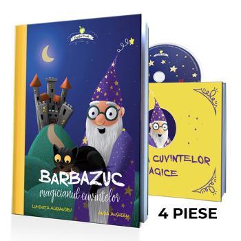Barbazuc, magicianul cuvintelor - set (cărţi şi audiobook)