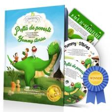 Poftă de poveşti - ediţia a III-a, cu 2 CD şi mapă digitală