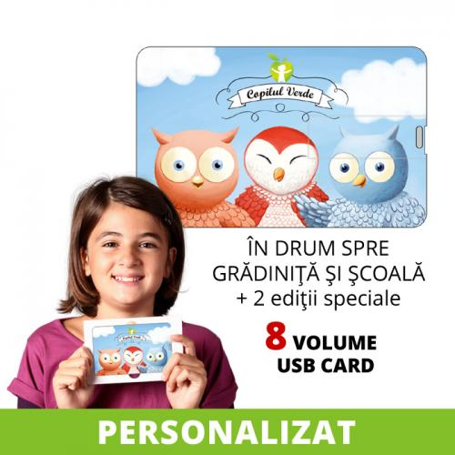 USB card seria completă Buha & Owliver vol. 1-8