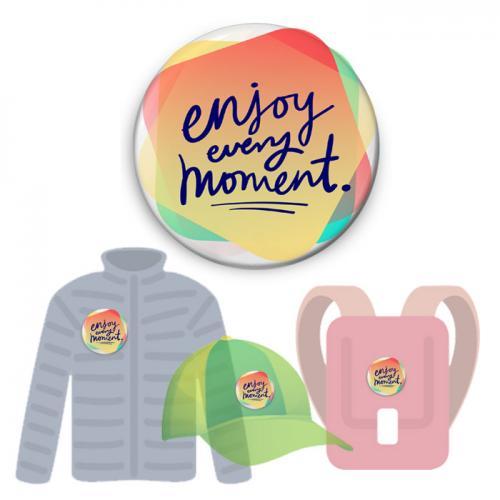 Insignă de colecţie - Enjoy Every Moment (colecţia Mindfulness)