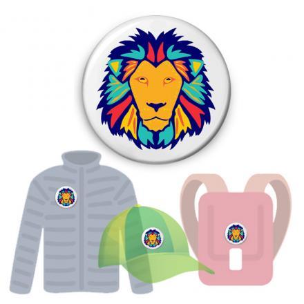 insigne-pentru-ghiozdane-lion1