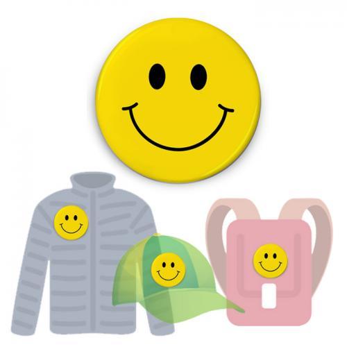 Insignă de colecţie - Big Smiley (accesoriu colecţia Mindfulness)