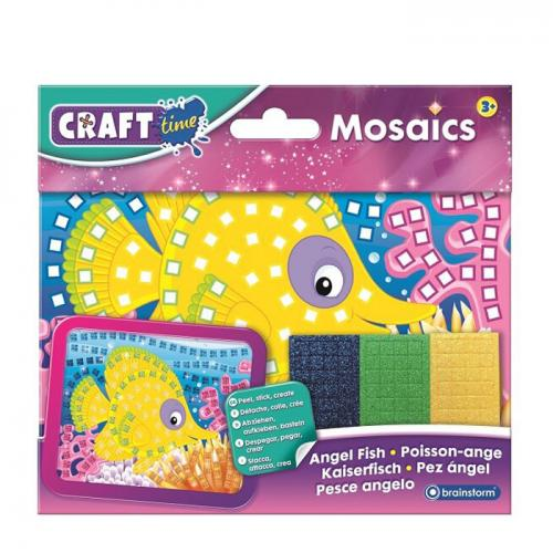 Set antrenament motric fin Mozaic Peştişor - craft gift