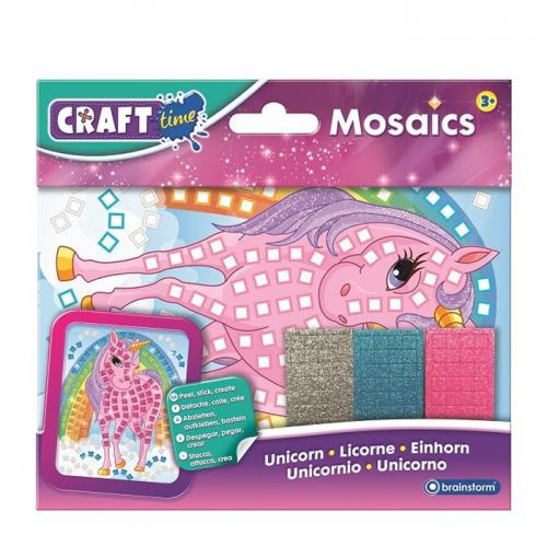 Set antrenament motric fin Mozaic Unicorn - craft gift