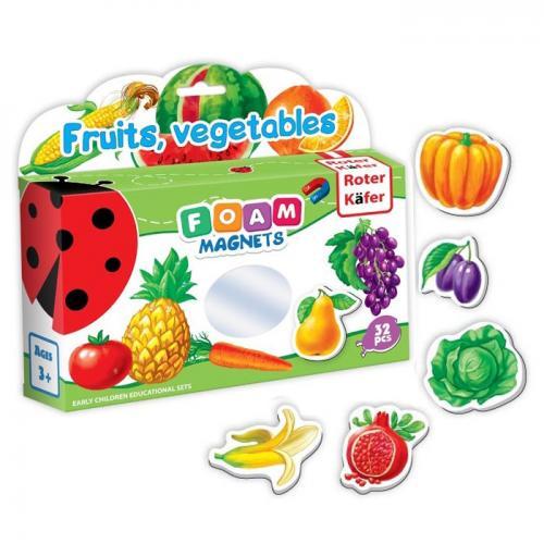 Set educativ - Legume şi fructe (magneţi din spumă), Roter Kafer