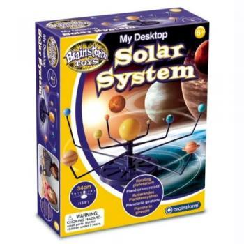 Planetariu rotativ pentru birou sau noptieră - Sistemul Solar