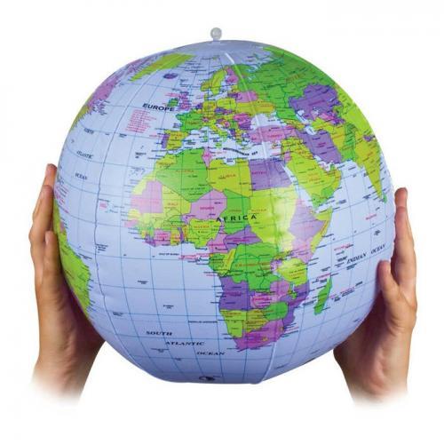 Glob pământesc gonflabil standard, economic, diametru 28 cm