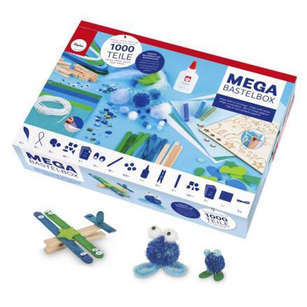 Set cu materiale pentru activitati creative pentru copii