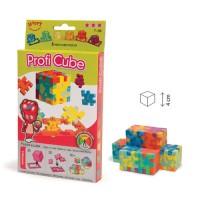 Profi Cube - set 6 puzzle-cuburi lavabile (7-99 ani) + app