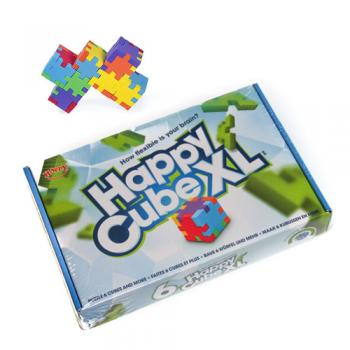 Happy Cube XL - set educativ cu 6 puzzle-cuburi 2D, 3D, 3D (5-99 ani)