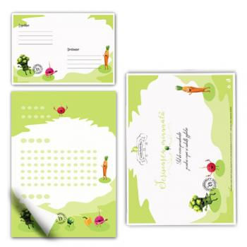 Scrisoarea minunată  - set de corespondenţă pentru copii (31 piese)
