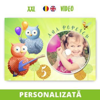 Felicitare muzicală VIDEO personalizată - Buha & Owliver, cu CD sau digitală