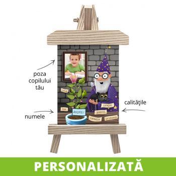 Decoraţiune motivaţională - tablou canvas cu minişevalet - Barbazuc