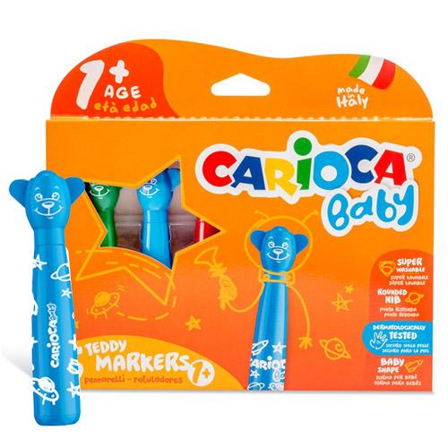 Carioca Baby - set 6 carioci speciale pentru copii mici (1+)