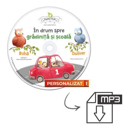Conversie CD — mp3 În drum spre grădiniţă şi şcoală vol. 1