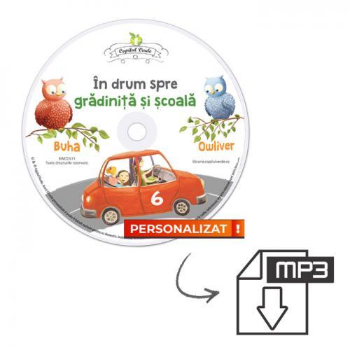 Conversie CD — mp3 În drum spre grădiniţă şi şcoală vol. 6