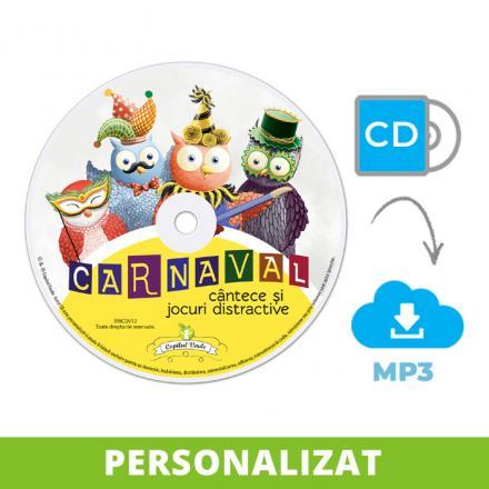 Conversie CD — mp3 Carnaval (cântece şi jocuri)