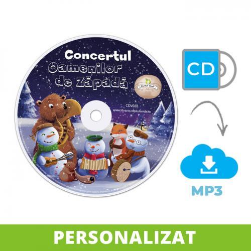 Conversie CD - MP3 Concertul Oamenilor de Zăpadă (Vol. 2 ODZ)