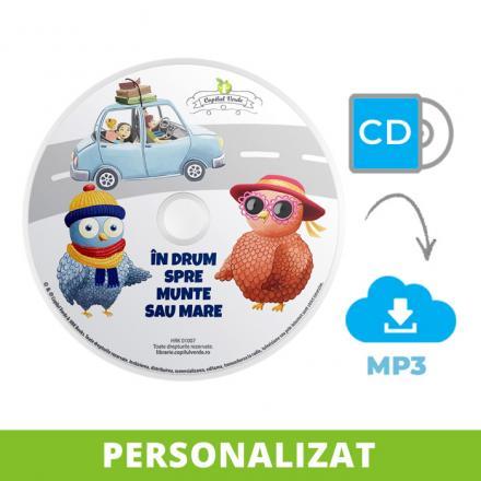 Conversie CD — mp3 În drum spre munte sau mare 2