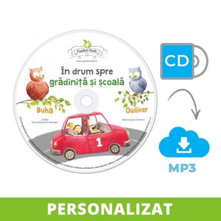 Conversie CD - MP3 În drum spre grădiniţă şi şcoală vol. 1