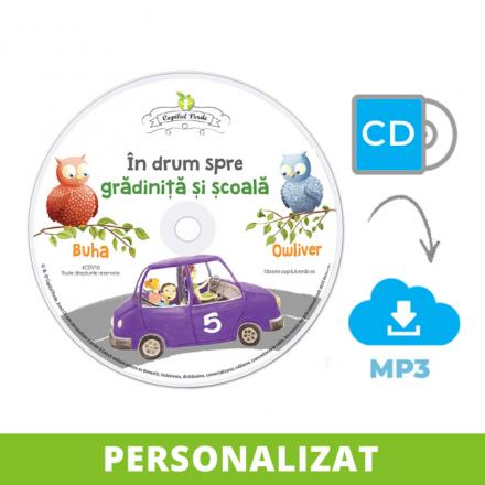 Conversie CD - MP3 În drum spre grădiniţă şi şcoală vol. 5