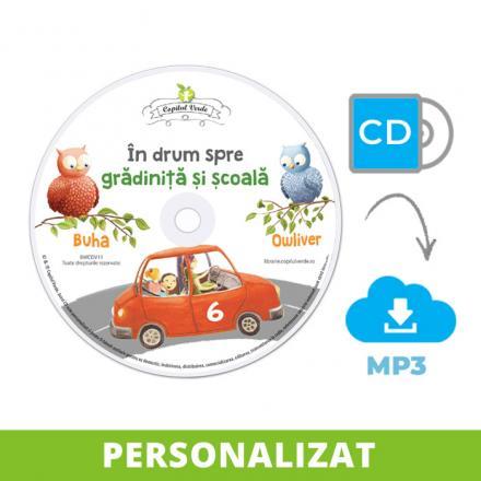 Conversie CD - MP3 În drum spre grădiniţă şi şcoală vol. 6