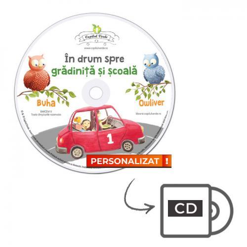 Copie CD (dublură) În drum spre grădiniţă şi şcoală vol. 1