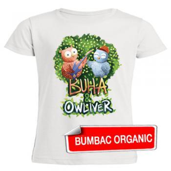 Tricou pentru copii - Buha & Owliver - croială FETE