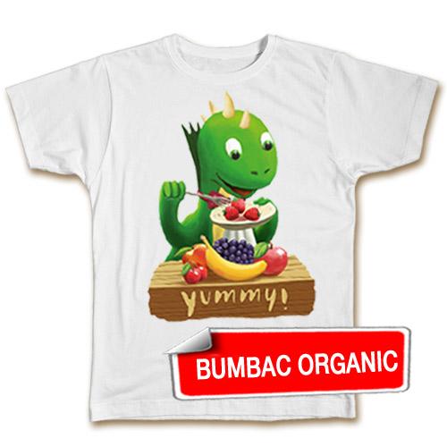 Tricou pentru copii - Fintifliuşcă (organic), model BĂIEŢI