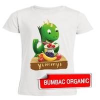 Tricou pentru copii - Fintifliuşcă (organic), croială FETE