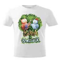 Tricou pentru copii - Buha & Owliver (bumbac 100%), unisex