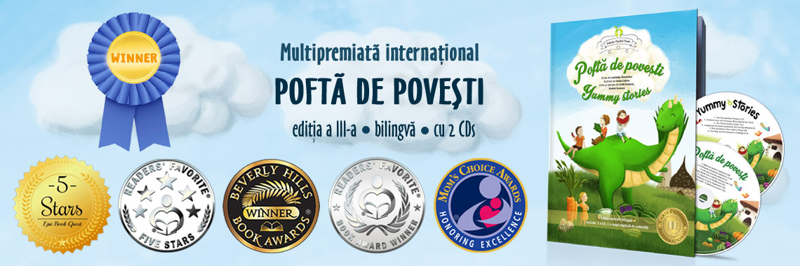 Pofta de povesti - carte multipremiata international